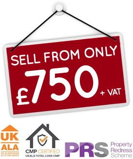 Sell from only £750 + vat